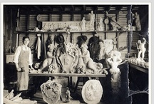woodcarving / The work of my great-grandfather, Sam Berger and others. / by Paris Hotel Boutique