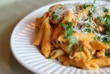 Food-Pasta / by Ozark Mountain Woodsmith, Inc.