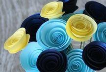 Paper Flowers  / by Tamara Gunder