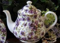 Teapots!!! / by Sherry Bernat