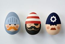 Decorated Eggs / In honour of British Egg Week, here's how you can get creative with eggs.  / by Prezzybox.com