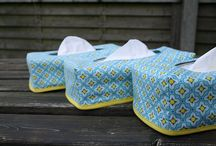 Tissue box covers / by Bags to Make