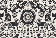 Folk Embroidery / by Ann Smith