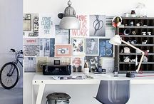 Work space / by Caitlin Levin