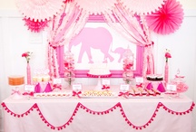 Baby Girl Shower-Elephant / by Cloud Nine Events & Accessories