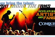 Conquer Entertainment/Certified Artist Developer / Conquer Entertainment is a turn-key solution for an artist or their team to open, own and successfully operate an independent label for the purpose of creating music, branding artist and generating income / by Mickey Pelle