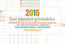 planner + printables / by rosesaregold