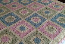 Crochet - Granny Square / Granny square ideas and designs / by M. Downum
