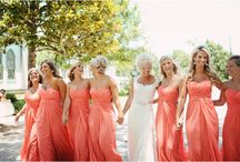 Coral Weddings / Coral Wedding Gowns ~ Coral Bridesmaids Dresses ~ Coral Wedding Decor ~ Coral Wedding Invitations ~ Coral Groomsmen Attire ~ Coral Bridal Accessories  / by Weddings in Houston Magazine