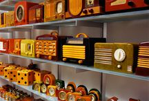 my OBSESSION! / Vintage radios / by Jennifer Wikoff