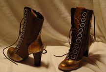 Steampunk Shoes | steampunkdistrict.com / by SteampunkDistrict.com }