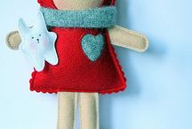 What a softie doll! / Soft dolls to sew / by Susan Burke