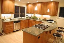 Kitchen worktop / Kitchen worktop, Your kitchen is the most important used area in your home, as it is used in many purposes as cooking, eating, washing dishes, or gathering with your family. The kitchen worktop helps you in many cooking activities; in addition to that worktop can be a decorative item in your kitchen. / by kitchen designs 2014 - kitchen ideas 2014 .