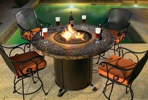 Firepit Frenzy / Safer than a bonfire, better than a tiki torch. Flame on.  Firepits have become a HOT commodity for people looking to indulge in 4-season outdoor entertaining.  Today's firepits come in both gas and wood burning varieties, providing heat, ambiance, and oftentimes act as conversation starters!  They come in all shapes, sizes, and designs, sure to compliment any, and all outdoor spaces including decks, patios, porches, and beyond! / by Homeclick.com