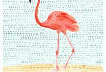 Fabulous Flamingo's  / by Gitte Nietvelt