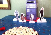 Mariah's Dr who bday / by Lacey Day