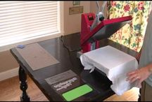 Crafty heat press / by Jenni Mouer (craftypleasures)