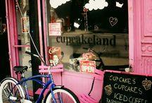 {cupcake shop} / by Tayla James