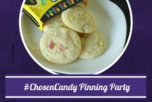 #ChosenCandy / Pin party sponsored by Mike and Ike and Goldenberg's Peanut Chews.  Join us on Thursday, December 12th at 8 pm ET for a prize-packed Pinterest party! Join the fun by tagging #ChosenCandy to your pins. / by JoyofKosher