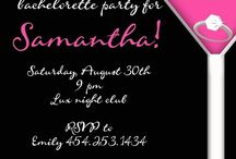 Bachelorette Party Ideas / by Amber Delozier