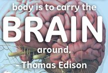 That's Genius! / Sharing the wisdom of GE founder, Thomas Edison.  / by GE