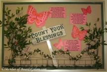 Bulletin Board ideas / by Shirley Bell