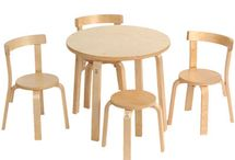 tables and chairs / by Mini Jake