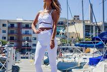 WHITE SAIL / Photography by Svetlana SP Fashion Pavli Medvedova Make-up Kimberly Bajada Model Linda Guranova http://pavlistyle.com/sail-summer-white/ / by PavliStyle