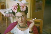 Artist Frida Kahlo (July 06, 1907 -July 13, 1954) / Frida Kahlo / by Mary Hedges
