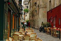 Paris Je t'aime / by Lana Cruz / The Pink Thread