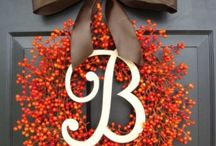 Fall decorating / by Courtney C