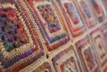 Afghans, cushions and blankets / by *** Briali ***