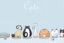 All about cats / by Beth W