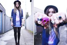 Fashion on the Streets / Street style and fashion. / by Mary Jaurena