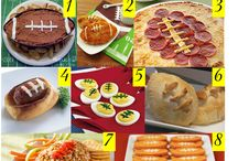 Super Bowl/ Tailgate Party Ideas / by Rebecca Marroquin