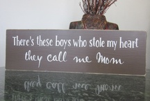 My boys / I wish I could shrink them down to babies again. I treasure everyday with my boys / by Stacy Bosco/ Di Simone