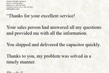 Customer Service / by Galco