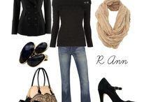 clothes and shoe style / by Corina Waite