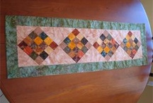 Table Runners and mug rugs / by Karen Rumsey