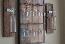 Bar/wine decor / by Danielle Laffoon