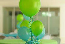 Party Decor Ideas / by Tara Mangum-Bowen