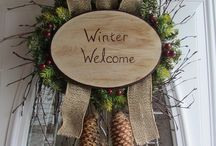""" Wreaths and My Front Door "" / by Michele Knoppel"
