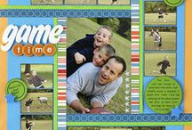 scrapbook layouts / by Robin Griffin