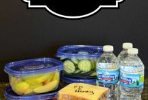 Lunches for school / by Amanda Whittington