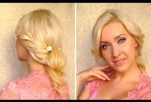 Hair, Nail and make up do / I tried to be creative to my hair style and make up. Need a simple easy healthy way to do them! / by Tee TeaRose