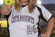 2014 Catamount Softball Intensity Head Shots / Intensity head shots for 2014 Catamount softball season / by Western Carolina Catamounts