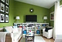 Living Room Inspiration/DIY Ideas / by Kaitlyn Cunningham