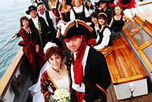 Pirate Themed Wedding / Ahoy! In honor of National Talk Like a Pirate Day, this board features ideas for the increasingly popular pirate themed weddings. Arrrrrggghhh! / by RD I Do
