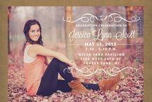 graduation announcements / by Cheryl Farmer