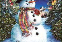 Winter/Christmas art / by Susanne Mackenzie